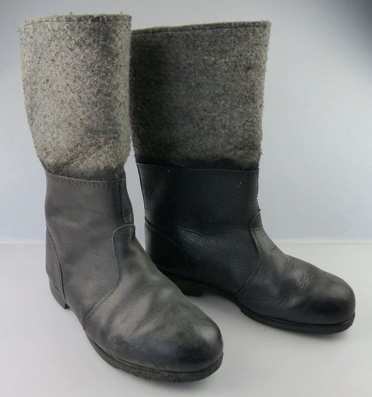 Original alte DDR Stiefel, Größe 29, heute Größe 43,5, un139