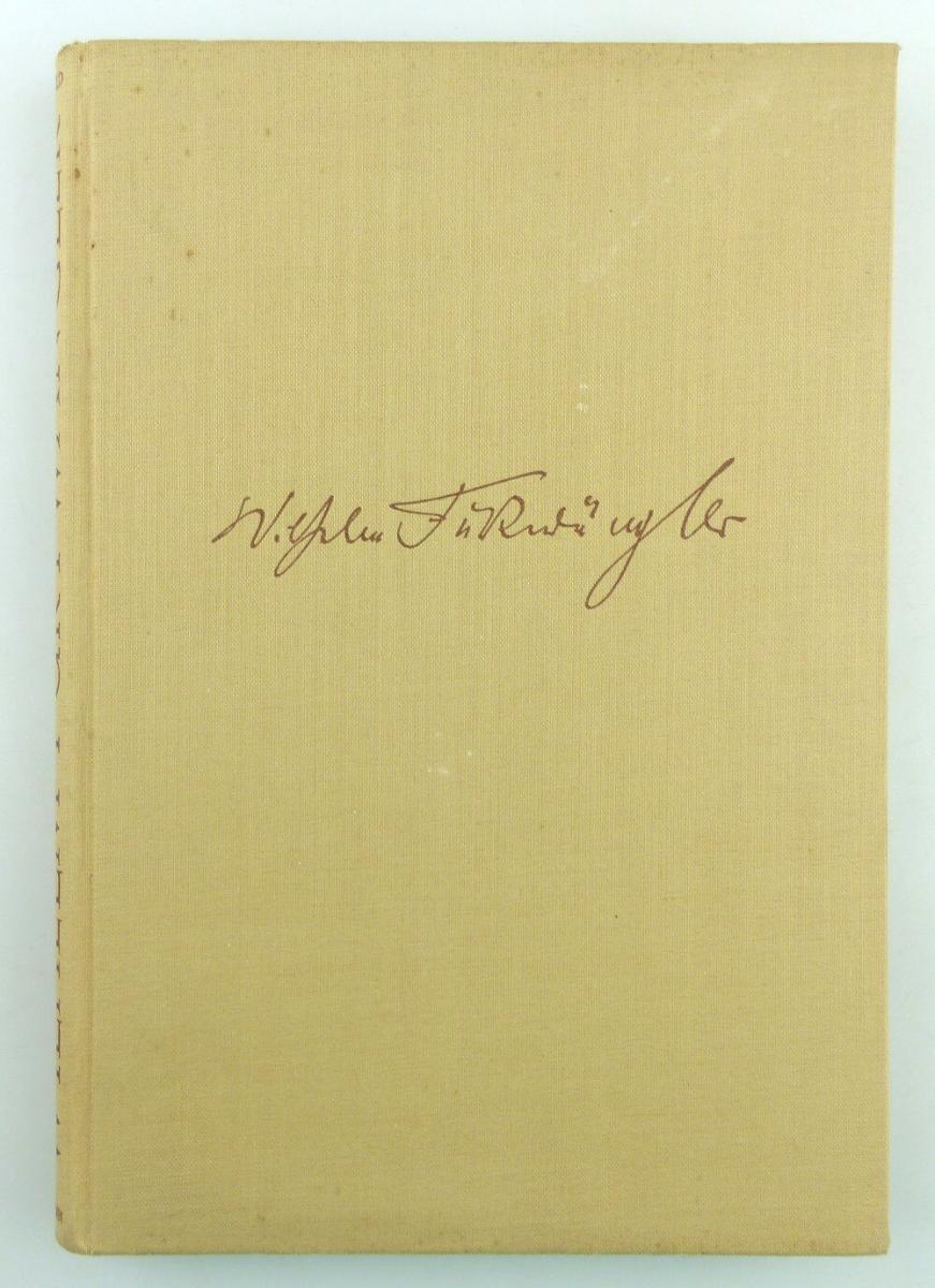 Buch: Friedrich Herzfeld - Wilhelm Furtwängler - Weg und Wesen e1565