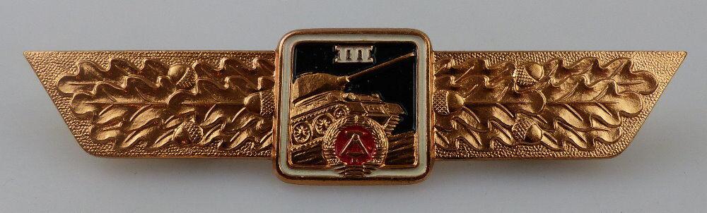 Klassifizierungsabzeichen Panzer Panzerfahrer Stufe III bronzefarben, Orden2985