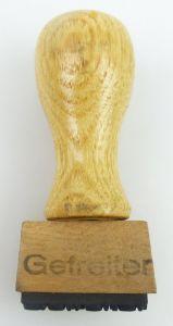 Original alter Stempel Gefreiter so203