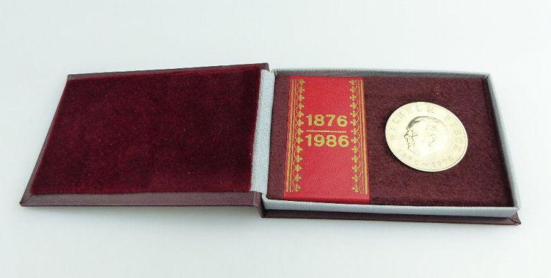 #e2732 Wilhelm Pieck Medaille DDR Sein Leben unser Vorbild VEB Mansfeld Kombinat