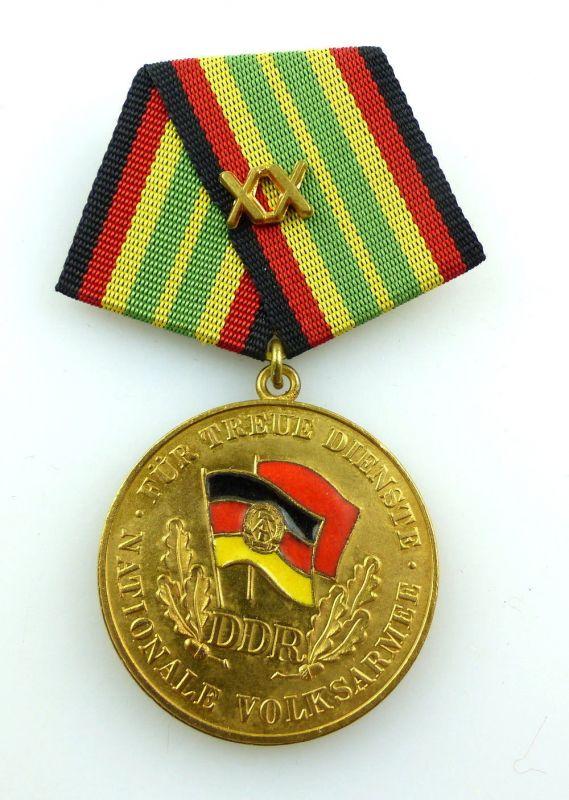 #e3104 Medaille für treue Dienste in der NVA in Gold für 20 Jahre Band I Nr.148