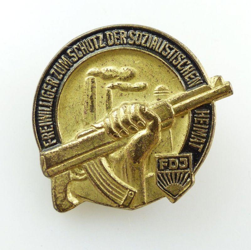 #e4819 Abzeichen Freiwilliger zum Schutz der sozialistischen Heimat FDJ DDR