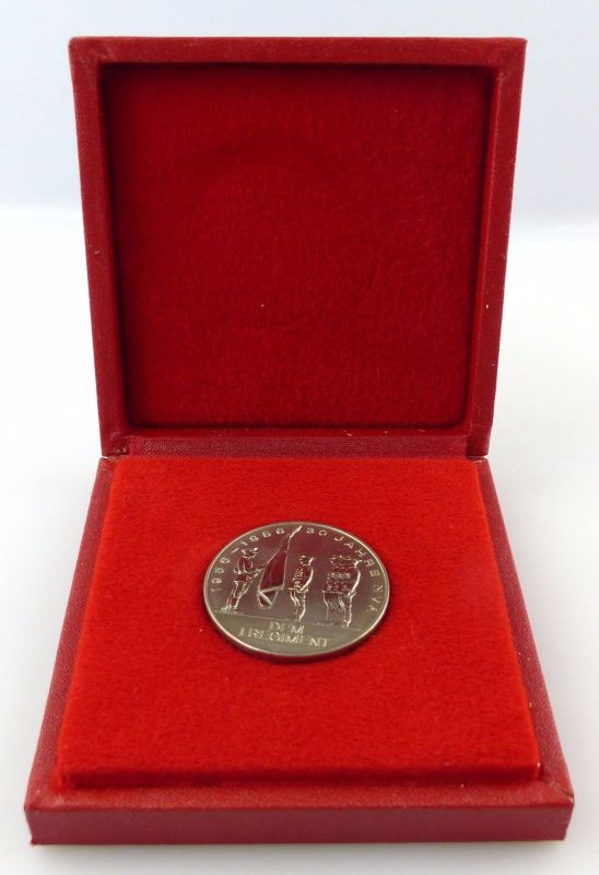Medaille 30 Jahre NVA 1956-1986 dem I Regiment silberfarben, Orden3299
