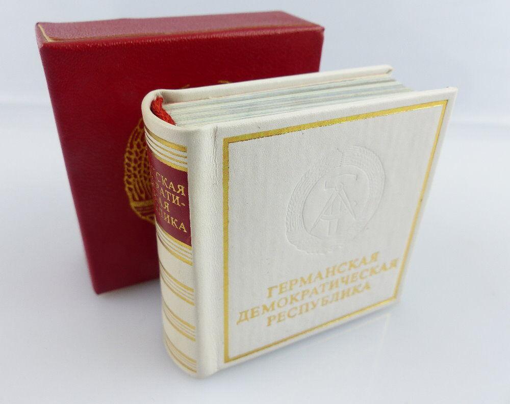 Minibuch: Deutsche Demokratische Republik Verlag Zeit im Bid russisch DDR e134