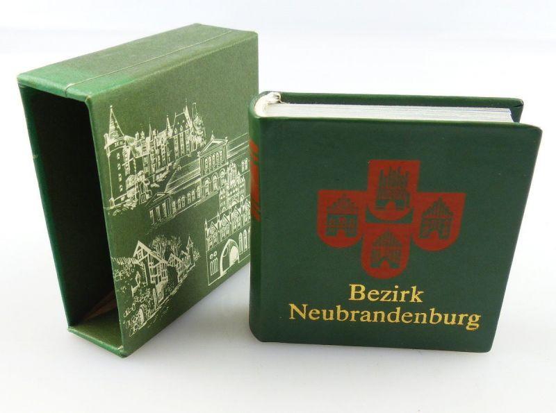 Minibuch : Bezirk Neubrandenburg , Verlag Zeit im Bild Dresden 198 /r676