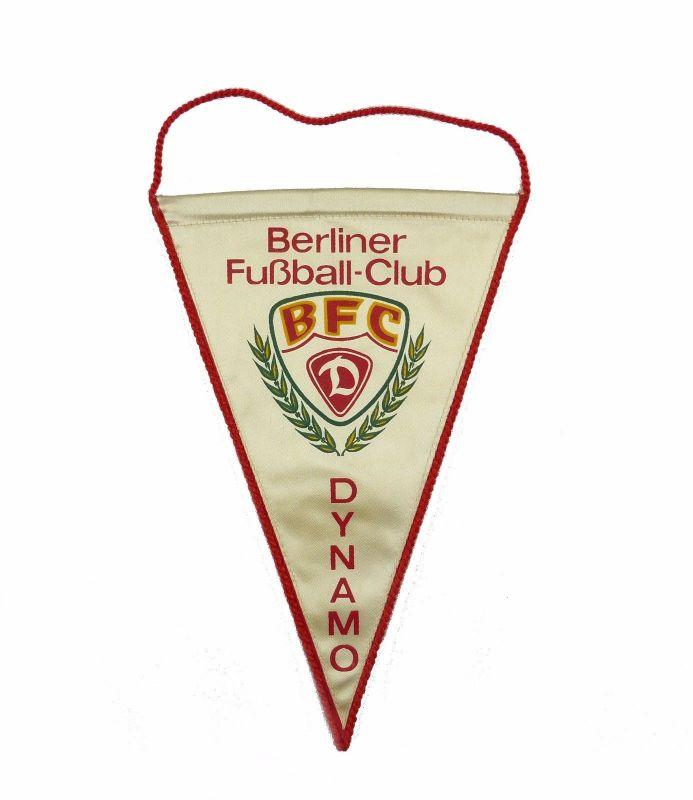 #e7147 Kleiner alter Wimpel Berliner Fußball-Club BFC Dynamo