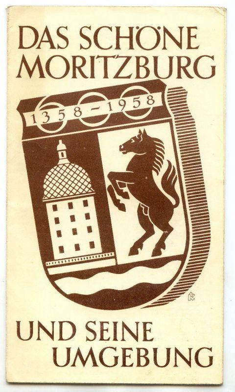 Karte: Das schöne Moritzburg und seine Umgebung Buch0456