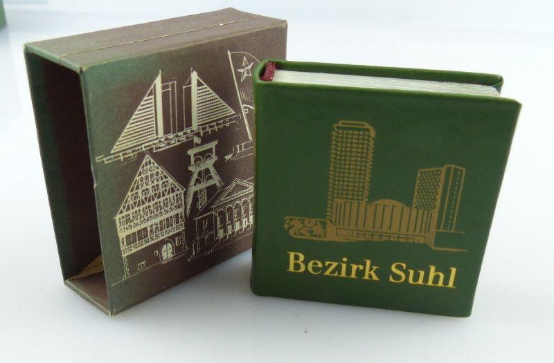 Minibuch : Bezirk Suhl , Verlag Zeit im Bild Dresden 1986 /r673