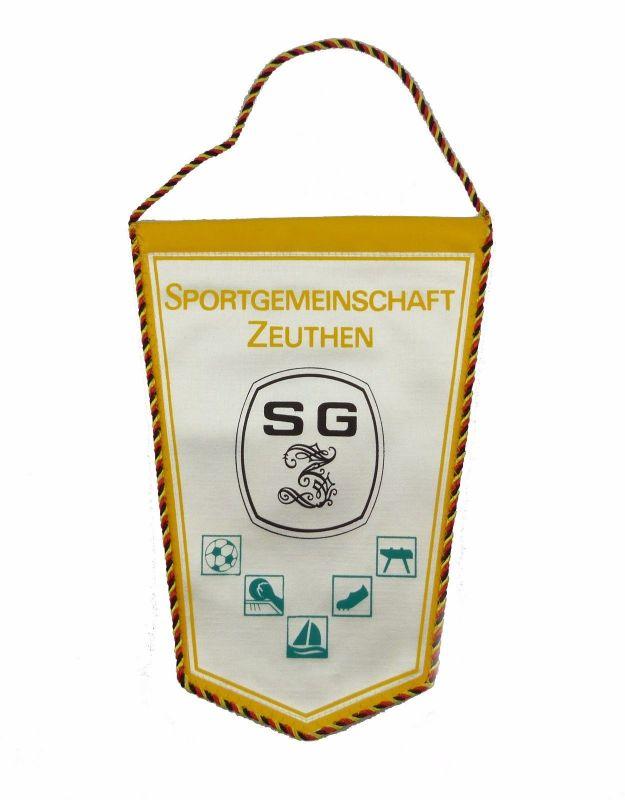 #e7145 Alter Wimpel Sportgemeinschaft Zeuthen SG Zeuthen
