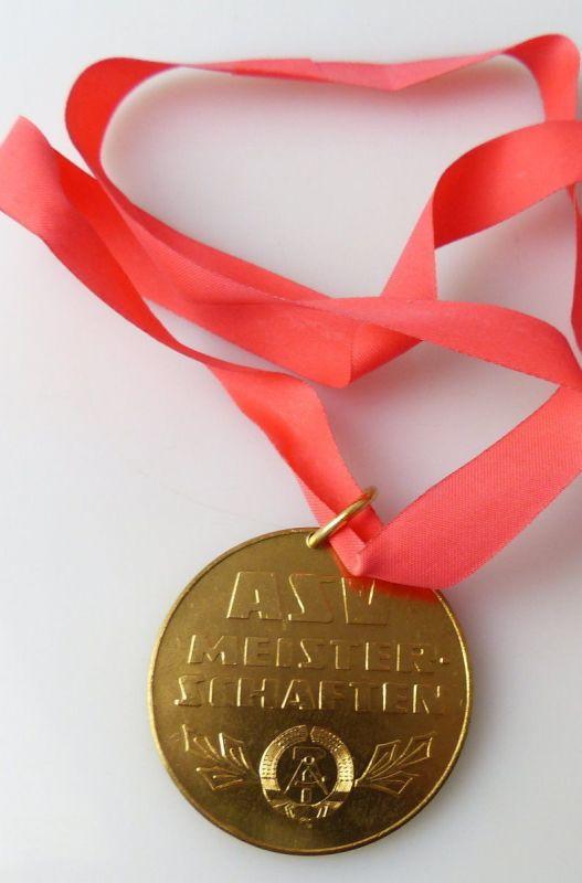 Medaille : ASV Meisterschaften Sportorganisation Landstreitkräfte / r373