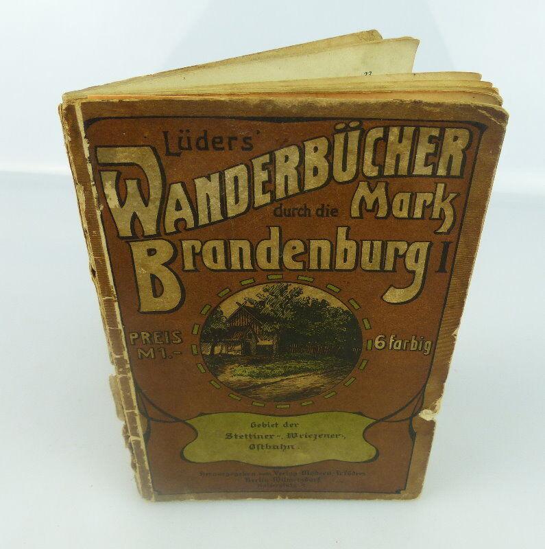 Buch: Lüders Wanderbücher durch die Mark Brandenburg 6farbig bu0697