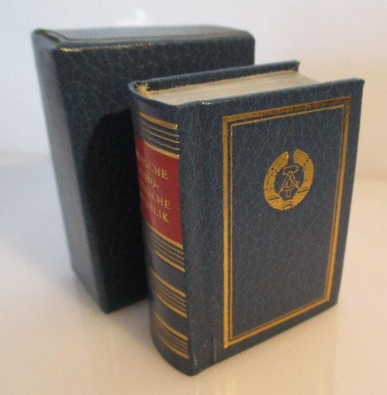 Minibuch: Deutsche Demokratische Republik Verlag Zeit im Bild bu0131