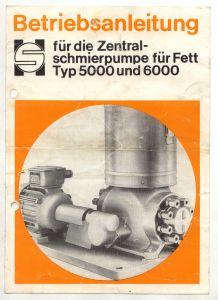 Betriebsanleitung Zentralschmierpumpe für Fett Typ 5000