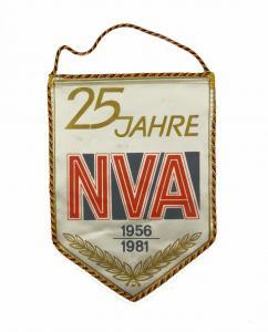 #e7139 Original alter Wimpel DDR 25 Jahre NVA 1956-1981