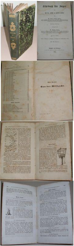 Lehrbuch für Jäger 2. Band v. 1852