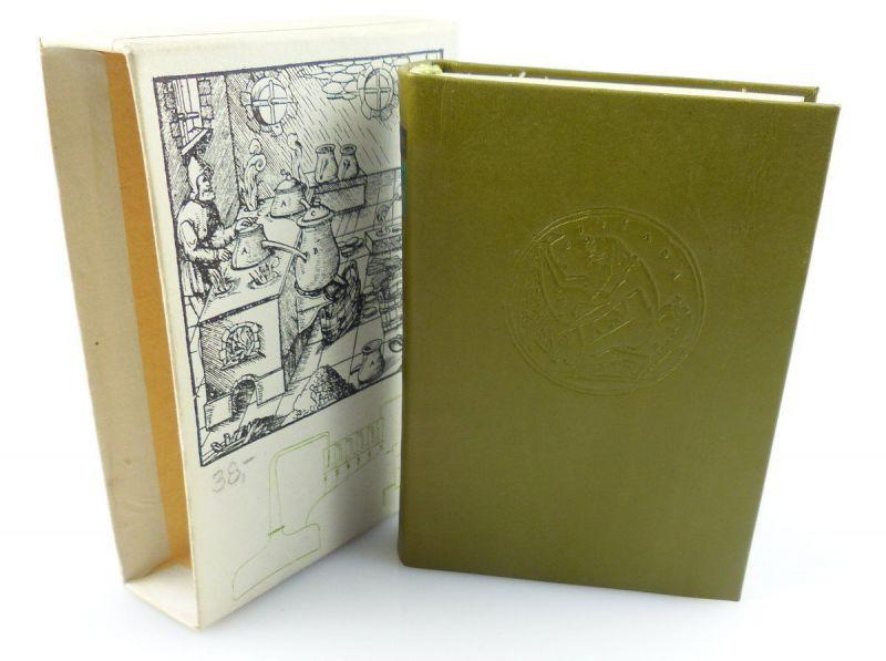 Minibuch : Prinzler Summa Destillationis, VEB Deutscher Verlag Leipzig 1983/r656