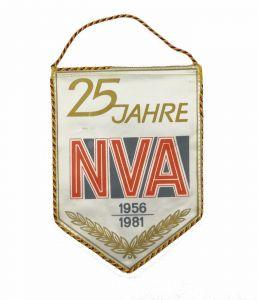 #e7126 Original alter Wimpel DDR 25 Jahre NVA 1956-1981