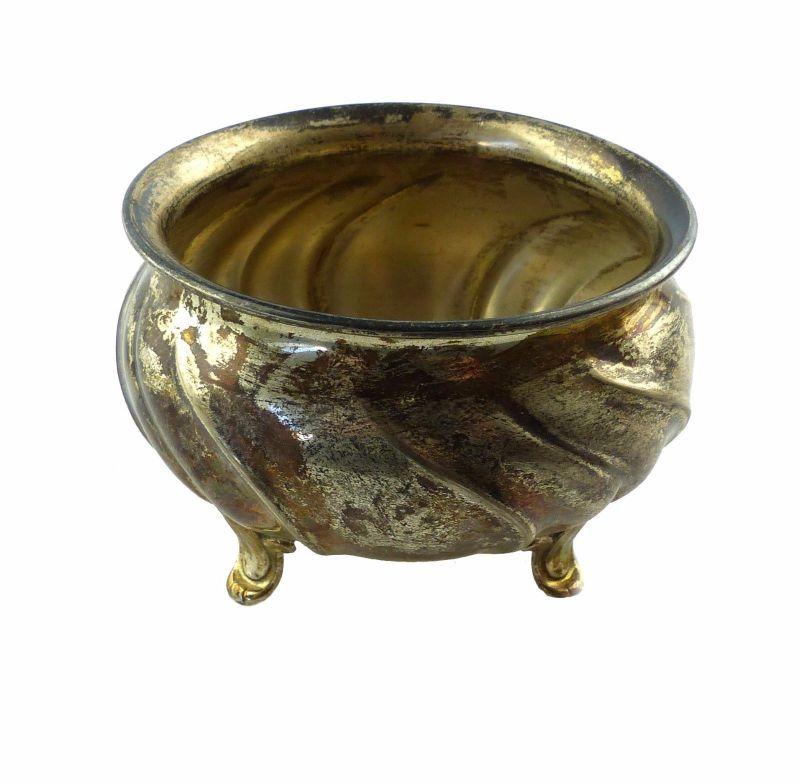 #e6738 Dekorative Wilkens Zuckerdose aus 835 (Ag) Silber mit Dresdner Hofmuster
