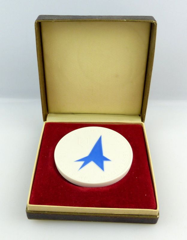 #e3057 Meissen Medaille Förderer MMM Für hervorragende Leistungen FDJ