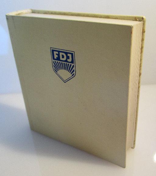Minibuch FDJ One great vision unites in englischer Sprache Auflage 1 bu0113
