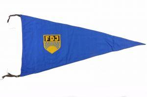 #e7124 Original alte Fahne: FDJ Freie Deutsche Jugend