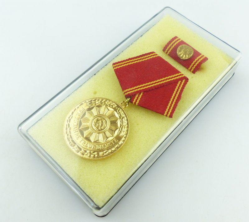 #e3452 DDR Medaille für treue Dienste in den bewaffneten Organen des MdI ab 1964