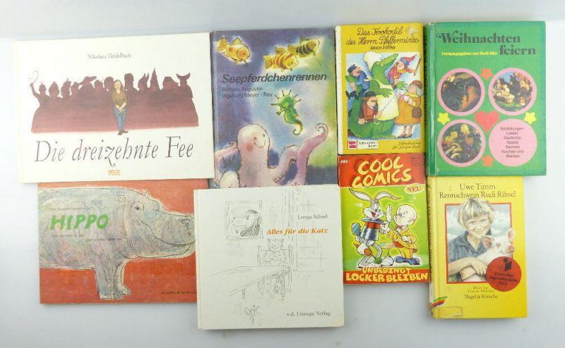 8 alte Kinderbücher: z.B. Seepferdchenrennen...e1156
