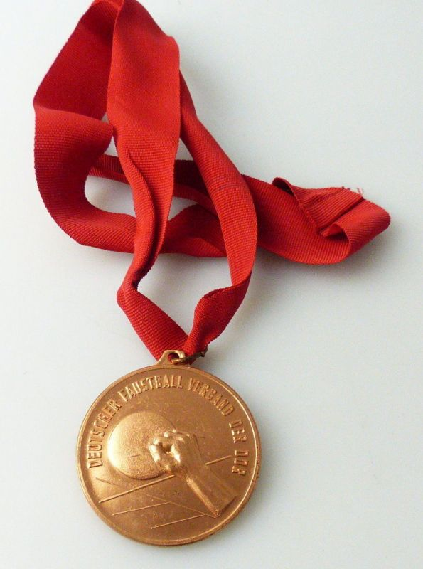 Medaille DDR - Meisterschaften im Faustball Verband der DDR Stufe Bronze/ r337