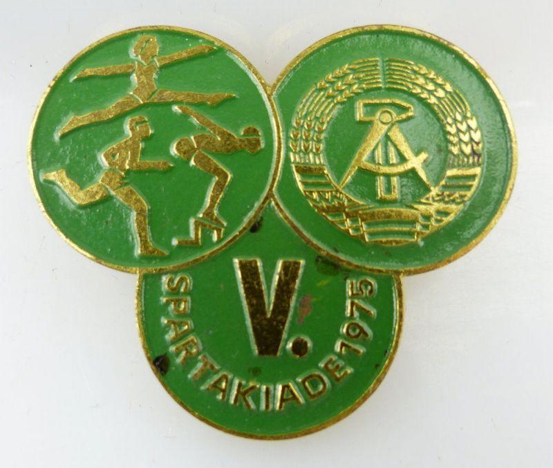 Abzeichen: V. Spartakiade DDR 1975 e1512