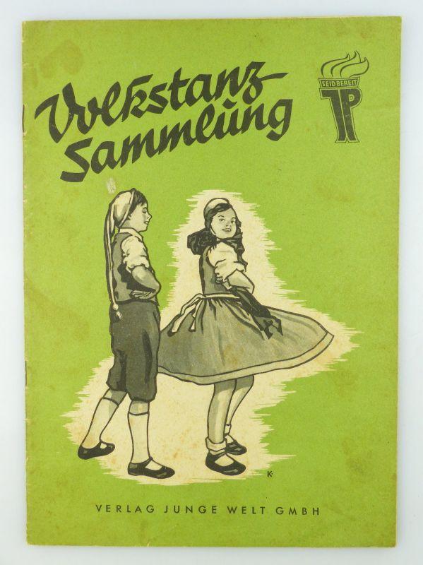 Zeitschrift: Volkstanzsammlung Verlag Junge Welt GmbH Zentralrat der FDJ e427