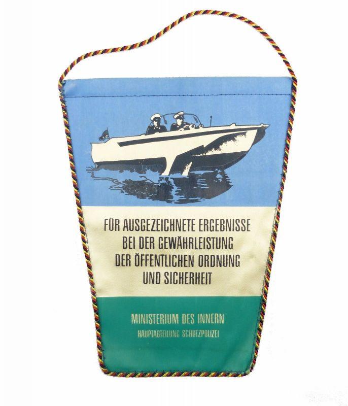 #e6066 DDR Wimpel Deutsche Schutzpolizei Ministerium des Innern