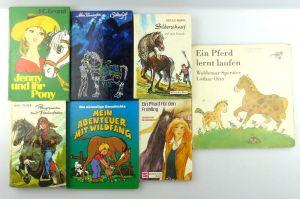 7 alte Kinderbücher: z.B. Ein Pferd lernt laufen...e1150