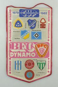 #e8104 Original alter Wimpel Cup der Landesmeister 1979 - 1982 BFC Dynamo