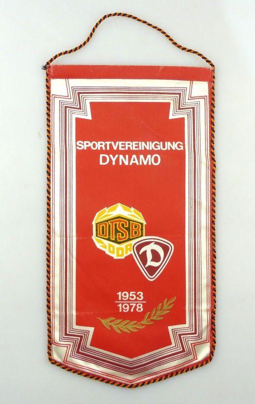 #e8103 Original alter Wimpel Sportvereinigung Dynamo 1953- 1978 DTSB DDR