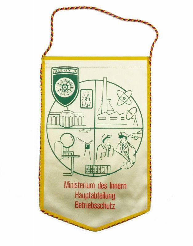 #e6064 DDR Wimpel Ministerium des Innern MdI Hauptabteilung Betriebsschutz