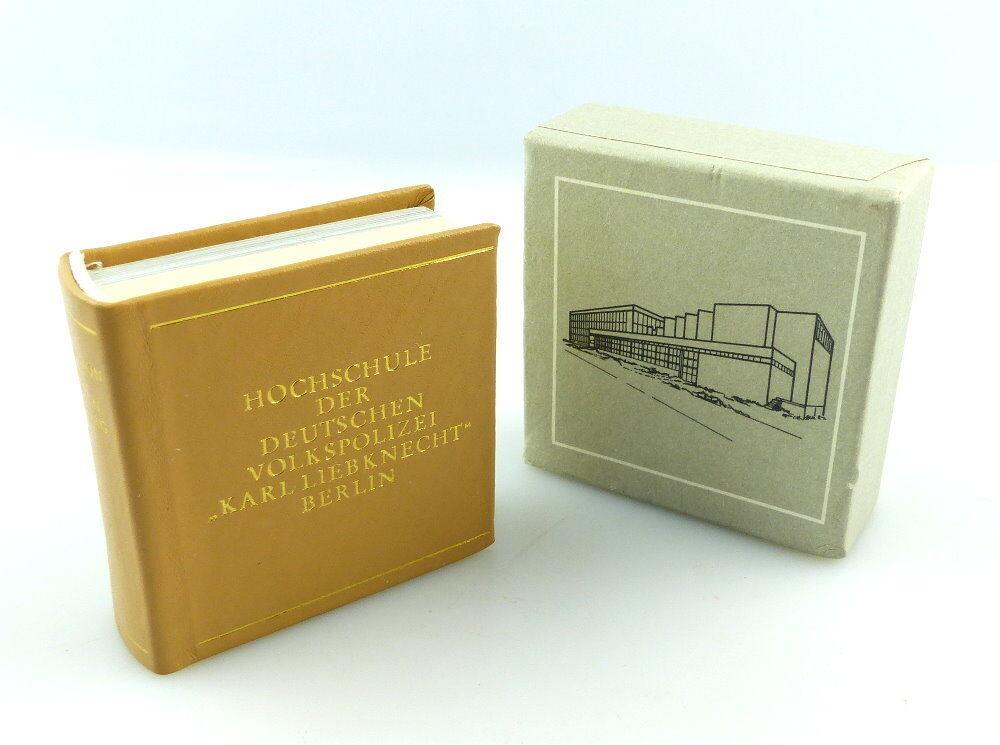 #e3808 Minibuch: Hochschule der DVP Tradition und Klassenauftrag Karl Liebknecht