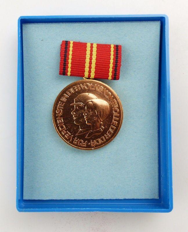 #e5271 Medaille für Verdienste in der Volkskontrolle der DDR Stufe II
