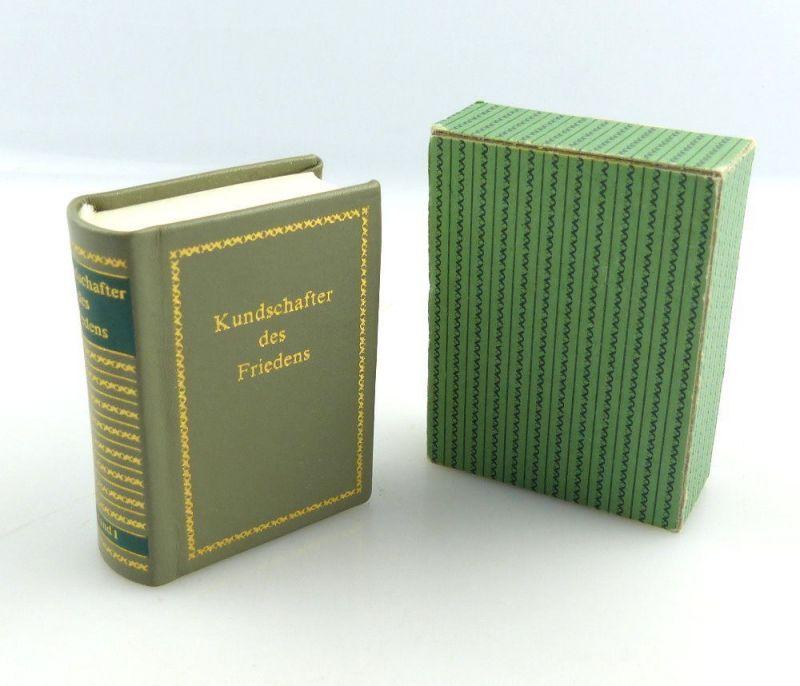 #e3806 Minibuch: Kundschafter des Friedens Band I Offizin Andersen Nexö Leipzig