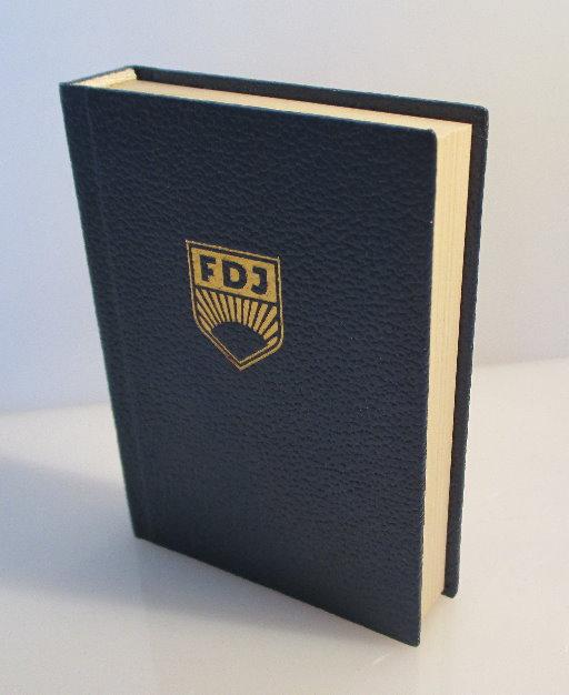Minibuch: FDJ - DDR, ein Staat des Friedens und des Sozialismus...bu0111