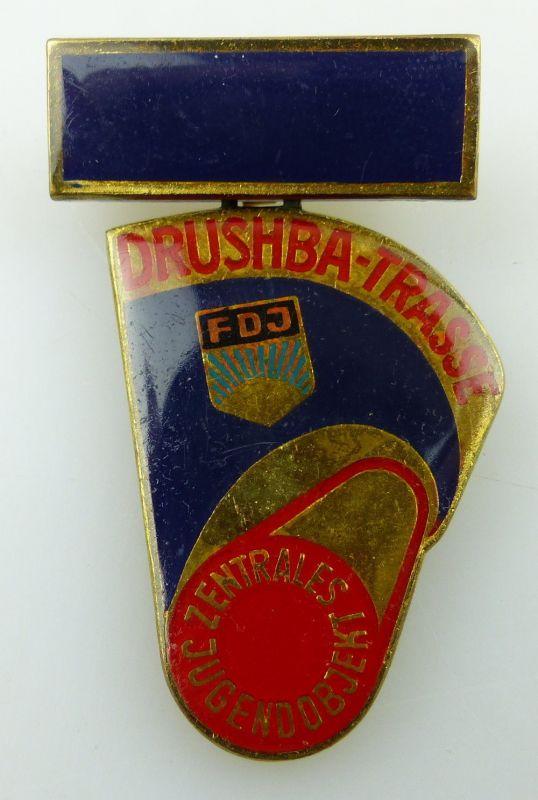 Ehrenmedaille Zentrales Jugendobjekt Drushba Trasse Band V Nr. 954 FDJ Orden3189