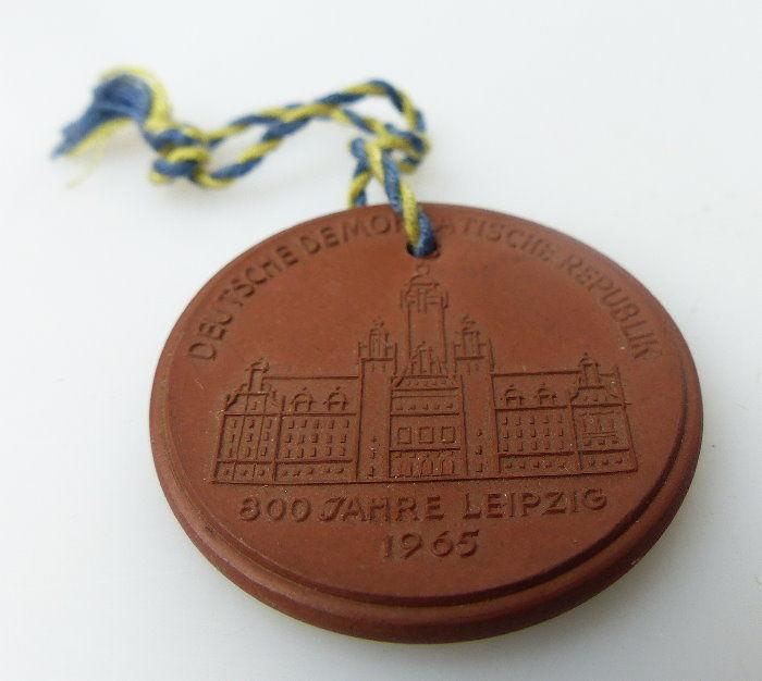 Meissen Medaille: 1165 1965 deutsche demokratische Republik 800 Jahre bu0674