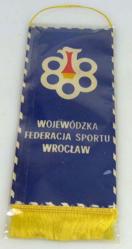 Wimpel Landesverband des Sports Breslau Gewichtsheben