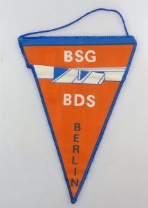 #e8097 Alter Wimpel: BSG BDS Berlin Sektion Kegeln