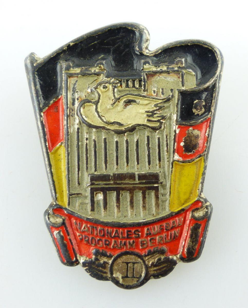 Abzeichen: II. Stufe Nationales Aufbau Programm Berlin e1497