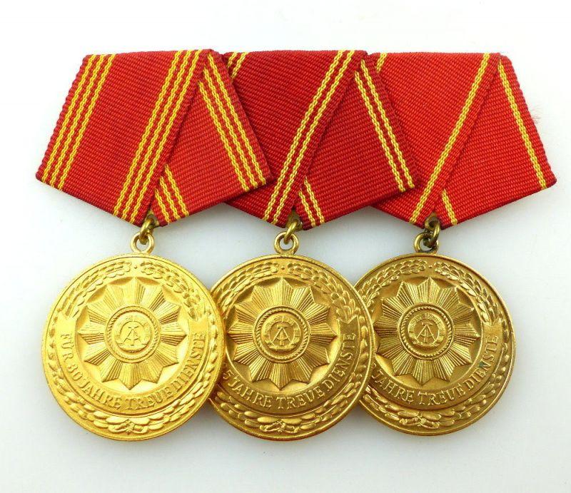 #e3416 DDR Ordenspange treue Dienste in den bewaffneten Organen des MdI in Gold