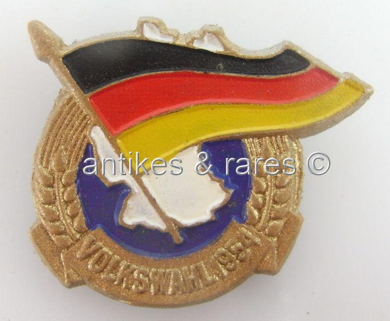 DDR Medaille Volkswahlen 1954