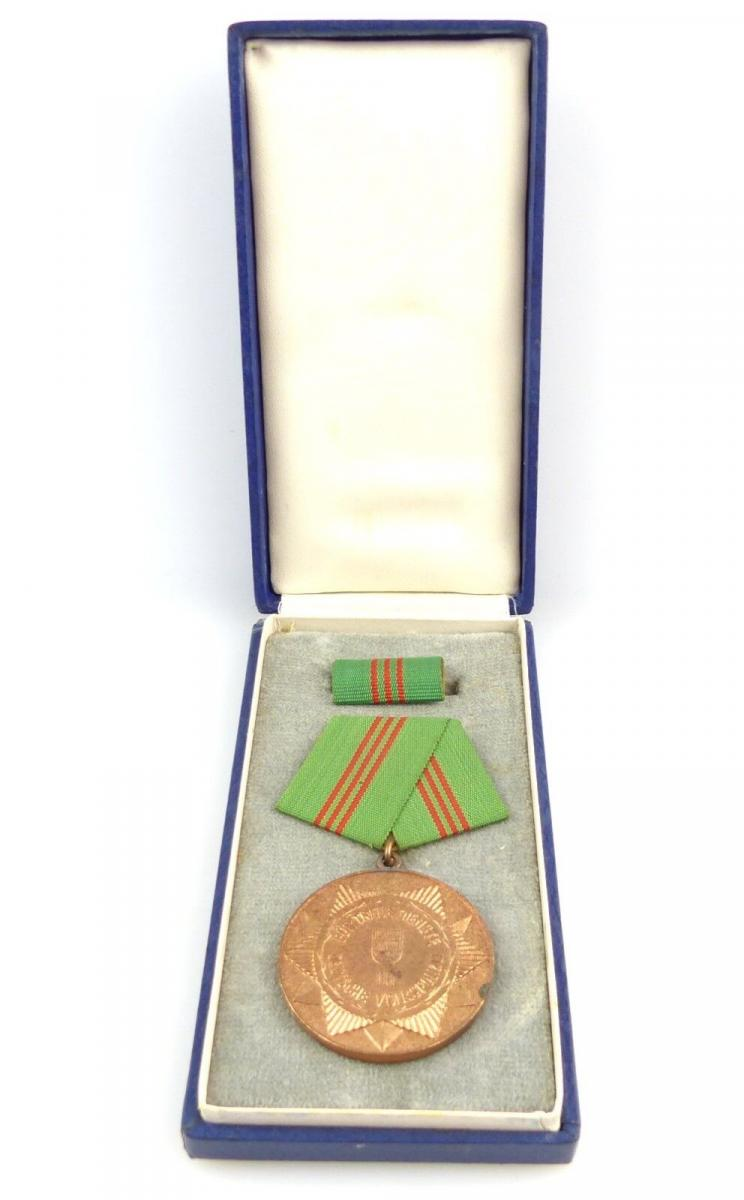 #e3018 Medaille 1964 für treue Dienste i.d. bewaffneten Organen des MdI Nr.143a