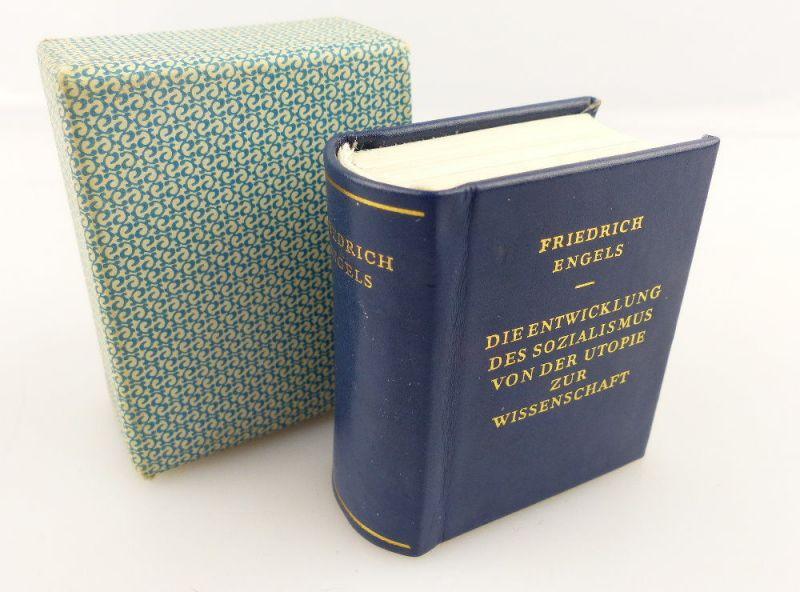 Minibuch : Friedrich Engels - von der Utopie zur Wissenschaft - e824