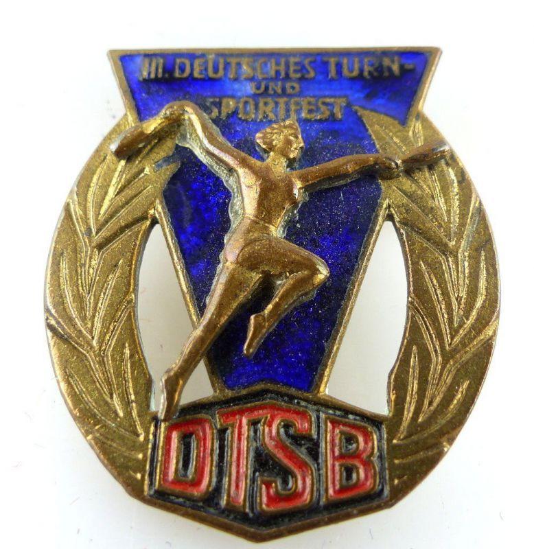 Abzeichen: III. Deutsches Turn- und Sportfest DTSB Leipzig 1959 e1483